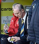 Scotland under 21 boss Billy Stark - Scotland v Holland - UEFA U21 European Championship qualifier at St Mirren Park..© David Young - .5 Foundry Place - .Monifieth - .Angus - .DD5 4BB - .Tel: 07765 252616 - .email: davidyoungphoto@gmail.com.web: www.davidyoungphoto.co.uk