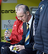 Scotland under 21 boss Billy Stark - Scotland v Holland - UEFA U21 European Championship qualifier at St Mirren Park..© David Young - .5 Foundry Place - .Monifieth - .Angus - .DD5 4BB - .Tel: 07765 252616 - .email: davidyoungphoto@gmail.com.web: www.davidyoungphoto.co.uk