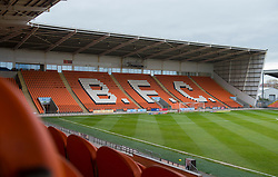 General view inside Bloomfield Road. - Mandatory by-line: Alex James/JMP - 03/11/2018 - FOOTBALL - Bloomfield Road - Blackpool, England - Blackpool v Bristol Rovers - Sky Bet League One