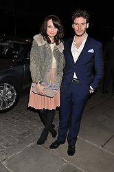 SAM CLAFLIN and ? at the Audi Ballet Evening held at the Royal Opera House, Bow Street, Covent Garden, London on 22nd March 2012.