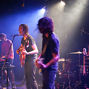 """Montreal based indie band Malajube performing songs from their most successful album, """"Trompe L'oeil"""" released in 2006. Magadalen Islands, Canada 2010."""