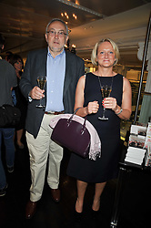PIERRE KOFFMAN and CLAIRE HARRISON at the launch of Tom Parker Bowles's new book 'Full English' held in the Gallery Restaurant, Selfridges, Oxford Street, London on 9th September 2009.