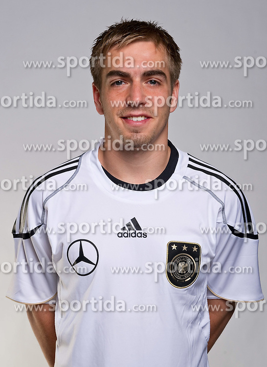 02.06.2010, Commerzbank-Arena, Frankfurt, GER, FIFA Worldcup, Spielerportraits, im Bild Philipp Lahm ( FC Bayern Muenchen #16 ) EXPA Pictures © 2010, PhotoCredit: EXPA/ nph/  Kokenge / SPORTIDA PHOTO AGENCY