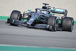 February 28, 2019 - Spain - Valtteri Bottas (Mercedes AMG Petronas Motosport) W10 car, seen in action during the winter testing days at the Circuit de Catalunya in Montmelo  (Credit Image: © Fernando Pidal/SOPA Images via ZUMA Wire)