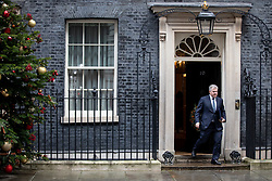 © Licensed to London News Pictures. 17/12/2019. London, UK. Security Minister Brandon Lewis leaving Downing Street after attending a Cabinet meeting this morning. Photo credit : Tom Nicholson/LNP