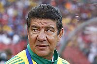 Joel Santana Manager of South Africa FIFA Confederations Cup South Africa 2009  South Africa  v Iraq at Coca Cola Park ( Ellis Park )  Stadium <br /> 14/06/2009 Credit Colorsport / Kieran Galvin