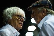September 18-21, 2014 : Singapore Formula One Grand Prix - Bernie Ecclestone, Jackie Stewart