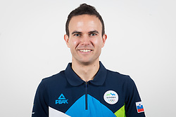 Jernej Damjan during the outfitting of the Slovenian Olympic Team for PyeongChang 2018, on January 29, 2018 in GH Union, Ljubljana, Slovenia. Photo by Urban Urbanc / Sportida