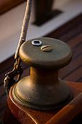 deck hardwear onboard Black Watch