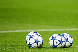 Balls during football match between GNK Dinamo Zagreb, CRO and Arsenal FC, ENG in Group F of Group Stage of UEFA Champions League 2015/16, on September 16, 2015 in Stadium Maksimir, Zagreb, Croatia. Photo by Urban Urbanc / Sportida