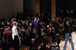 a Model presents the fashion of Esteban Cortazar, Autumn Winter 2016, Ready to Wear, Paris Fashion Week. EXPA Pictures © 2016, PhotoCredit: EXPA/ Photoshot/ Digital Catwalk<br /> <br /> *****ATTENTION - for AUT, SLO, CRO, SRB, BIH, MAZ, SUI only*****
