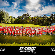 2016 Mt. Pleasant Track Club Team Photograph