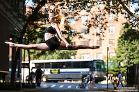 Dance As Art Photography Project- West Village New York City featuring dancer, Jocelyn Farabaugh