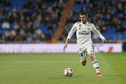 January 24, 2019 - Madrid, Madrid, Spain - Dani Ceballos (Real Madrid) seen in action during the Copa del Rey Round of quarter-final first leg match between Real Madrid CF and Girona FC at the Santiago Bernabeu Stadium in Madrid, Spain. (Credit Image: © Manu Reino/SOPA Images via ZUMA Wire)