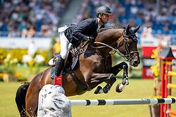 TEBBEL Maurice (GER), Don Diarado<br /> Aachen - CHIO 2018<br /> Preis von Nordrhein-Westfalen<br /> 20. Juli 2018<br /> © www.sportfotos-lafrentz.de/Stefan Lafrentz
