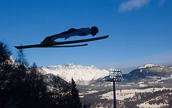 06.01.2015, Paul Ausserleitner Schanze, Bischofshofen, AUT, FIS Ski Sprung Weltcup, 63. Vierschanzentournee, Probedurchgang, im Bild Jan Matura (CZE) // Jan Matura of Czech Republic during Trial Jump of 63rd Four Hills Tournament of FIS Ski Jumping World Cup at the Paul Ausserleitner Schanze, Bischofshofen, Austria on 2015/01/06. EXPA Pictures © 2015, PhotoCredit: EXPA/ JFK