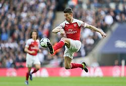 Laurent Koscielny of Arsenal controls the ball - Mandatory by-line: Arron Gent/JMP - 02/03/2019 - FOOTBALL - Wembley Stadium - London, England - Tottenham Hotspur v Arsenal - Premier League