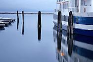 The Pre-Dawn Solitude Of Burlington Vermont's Waterfront