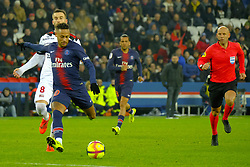 January 19, 2019 - Paris, Ile de France, France - Paris SG Forward NEYMAR JR best player of the match during the French championship League 1 Conforama match Paris SG against EA Guingamp at the Parc des Princes Stadium in Paris - France.Paris SG won 9-0 (Credit Image: © Pierre Stevenin/ZUMA Wire)