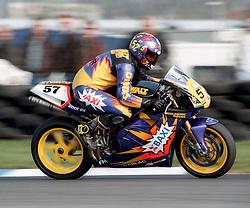 ANDY WARD DWALT BAXI DUCATI,  BSBC British Superbike Championship Donington Park  13th April 1997S/B DONINGTON 13/4/1997