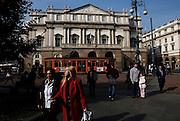 MILANO, piazza della scala