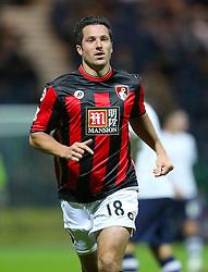 Yann Kermorgant of Bournemouth  - Mandatory byline: Matt McNulty/JMP - 07966386802 - 22/09/2015 - FOOTBALL - Deepdale Stadium -Preston,England - Preston North End v Bournemouth - Capital One Cup - Third Round