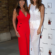 Linda Lusardi and Lucy Kane  attending the launch of Andrea McLean's new book Confessions of a Menopausal Woman at the Devonshire Club in London on June 26 2018..