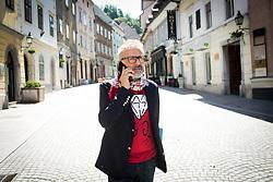 Massimo Bottura, an Italian restaurateur and the chef patron of Osteria Francescana, a three-Michelin-star restaurant based in Modena, on May 26, 2017 in Ljubljana, Slovenia. Photo by Vid Ponikvar / Sportida