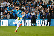Lucas Ocampos of Olympique de Marseille before the French Championship Ligue 1 football match between Olympique de Marseille and Olympique Lyonnais on march 18, 2018 at Orange Velodrome stadium in Marseille, France - Photo Philippe Laurenson / ProSportsImages / DPPI