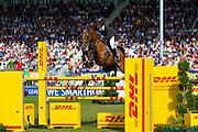 Steve Guerdat - Nino des Buissonnets<br /> World Equestrian Festival, CHIO Aachen 2013<br /> &copy; DigiShots