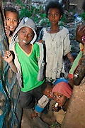 LALIBELA, WELO/ETHIOPIA..Kids at the village of Lalibela..(Photo by Heimo Aga)