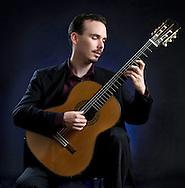 Classical Guitarist, Dallas Editorial portrait photographer