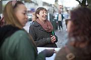 Caroline Lucas, Green Party, Member of Parliament for Brighton.