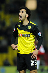 Watford's Iriney - Photo mandatory by-line: Dougie Allward/JMP - Tel: Mobile: 07966 386802 14/01/2014 - SPORT - FOOTBALL - Vicarage Road - Watford - Watford v Bristol City - FA Cup - Third Round - replay