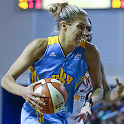Chicago Sky Forward Elena Delle Donne (11) attempts to drive to the basket in the second period of a WNBA preseason basketball game between the Chicago Sky and the New York Liberty Friday, May. 22, 2015 at The Bob Carpenter Sports Convocation Center in Newark, DEL