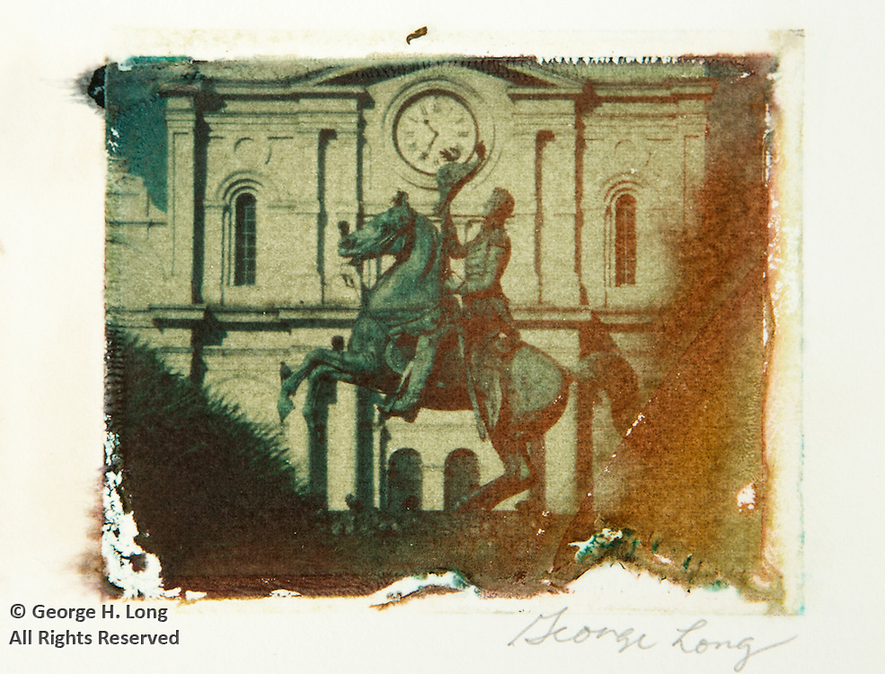 Polaroid Image Transfers by George Long