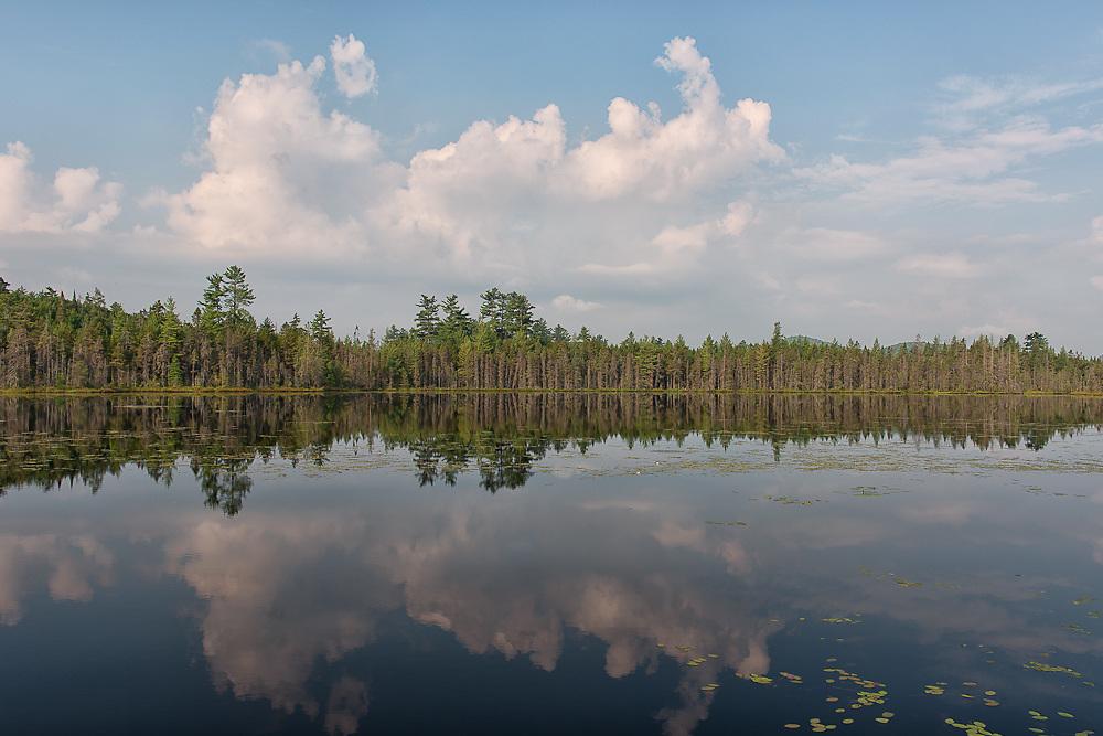 Helldiver pond in Moose river plains