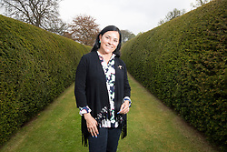Outlander author Diana<br /> Gabaldon at the Cringletie House hotel,<br /> Edinburgh Rd, Peebles.