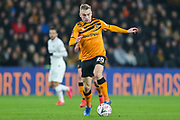 Hull City forward Jarrod Bowen (20)  during The FA Cup match between Hull City and Chelsea at the KCOM Stadium, Kingston upon Hull, England on 25 January 2020.