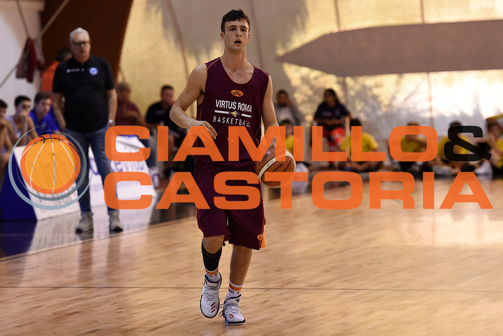 Tommaso Baldasso<br /> Virtus Roma - Cuore Napoli Basket<br /> LNP - Amichevole<br /> Roma, 24/09/2017<br /> Foto G.Masi / Ciamillo - Castoria