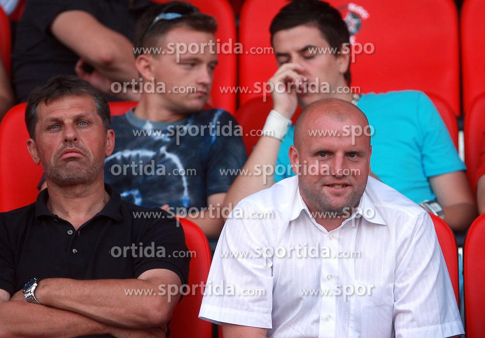 Coach of Domzale Robert Pevnik at 7th Round of PrvaLiga Telekom Slovenije between NK Interblock vs NK Nafta Lendava, on September , 2008, in ZAK stadium in Ljubljana, Slovenia. Interblock won the match 3:1. (Photo by Vid Ponikvar / Sportal Images)