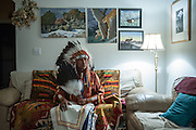 Chief Reynard of the Jicarilla Apache Tribe, Dulce, NM