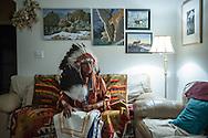 Chief Reynard of the Jicarilla Apache Tribe, Dulce, NM