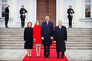 KING FELIPE AND QUEEN LETIZIA DURING A 2 DAY VISIT TO GERMANY