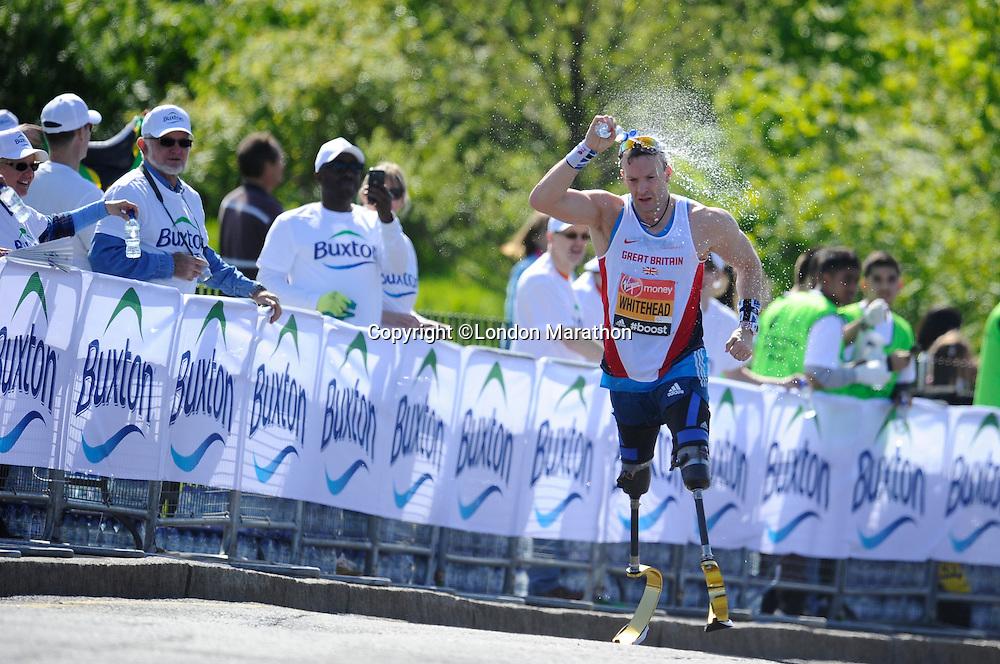 Whitehead of Great Britain<br /> The Virgin Money London Marathon 2014<br /> 13 April 2014<br /> Photo: Javier Garcia/Virgin Money London Marathon<br /> media@london-marathon.co.uk