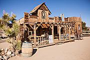 Old West movie set at Pioneertown, California.
