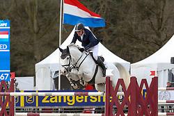 Zoer Albert, (NED), Gigolo<br /> Z-Tour Zangersheide 2016<br /> © Hippo Foto - Counet Julien