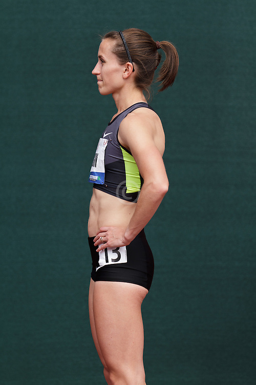 Olympic Trials Eugene 2012, women's 1500 meters Shannon Rowbury