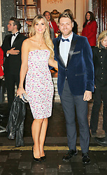 © Licensed to London News Pictures. 26/03/2014, UK. JJ Vogue Williams; Brian McFadden, I Can't Sing! The X Factor Musical - press night, London Palladium, London UK, 26 March 2014. Photo credit : Richard Goldschmidt/Piqtured/LNP