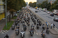 Hells Angels MC protest in Berlin